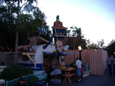 Goofy's Bounce House has been sent to Yesterland