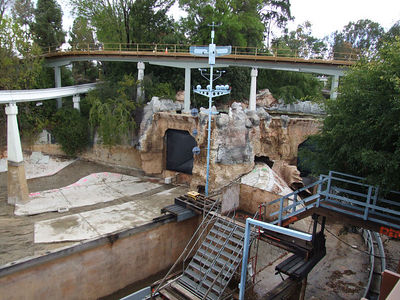 Some major work has started to happen at the Sub Lagoon