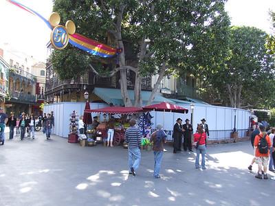 Cafe Orleans is behind refurb walls