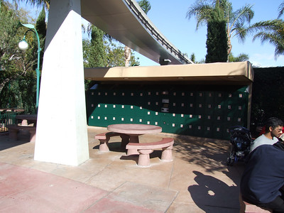 The Picnic Area Lockers have been replaced, and now open.