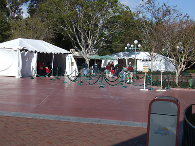 The Stroller Rental area