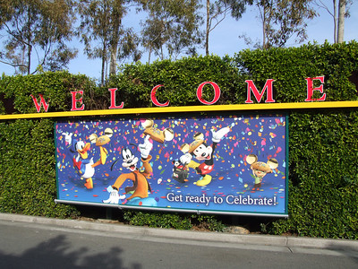 A new addition, the Welcome, with the Mickey heads