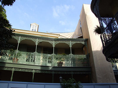 Work Continues on the Club 33 roof