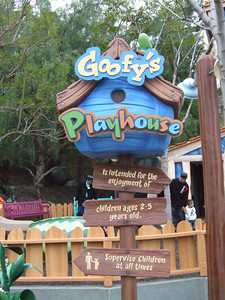 """The new area is called """"Goofy's Playhouse"""""""