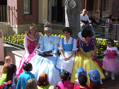 Came across this group of Princesses near the Guided Tour Garden