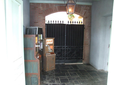 The Penny Press Machines that used to be in Pieces of Eight have been moved due to the closure