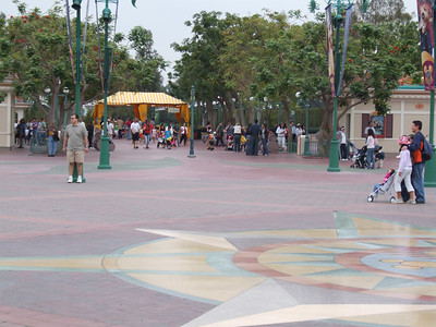 The Monsters, Inc. ads have been removed from the Main Entry Plaza