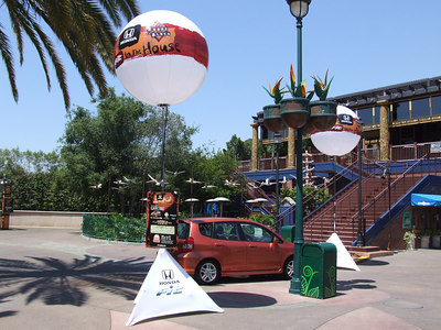 A second Honda has been placed at DtD for House of Blues advertising