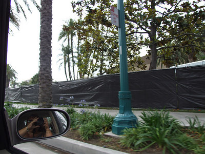 The Anaheim Convention Center main arena has started its remodeling
