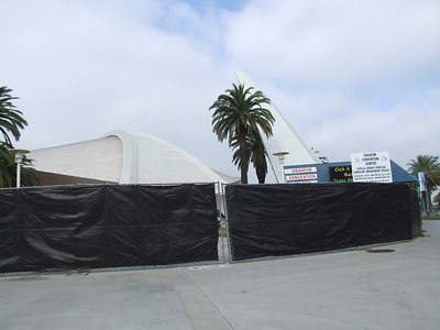 A couple more of the Convention Center work
