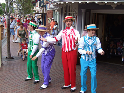 """If you miss the """"old"""" Dapper Dans, check out this website....  http://www.theperfectgents.com/"""