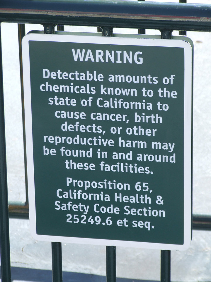 Yes, you could get cancer by going to Disneyland, but you can also get it almost anywhere else.