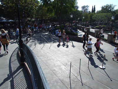 The extended queue was not being used