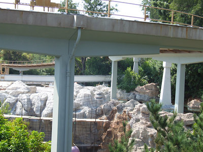 A look at the Sub Progress from the Monorail