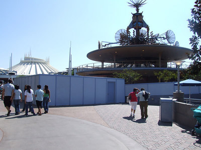 Work has started on the new Autopia Store, which will replace the old Radio Disney Booth