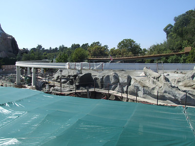 Sunday is the last day for the Monorail, so get some of the last looks of the Sub Lagoon for awhile....