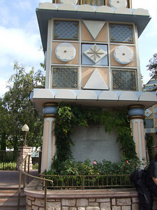 The 50th Mosaics have been removed for the Parade Route near iasw