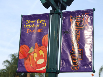 New banners at Downtown Disney