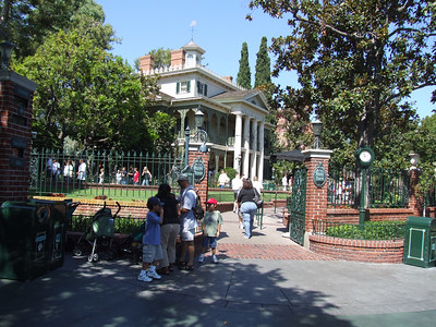 The Haunted Mansion doesn't close until this upcoming Monday (Sept. 11th)