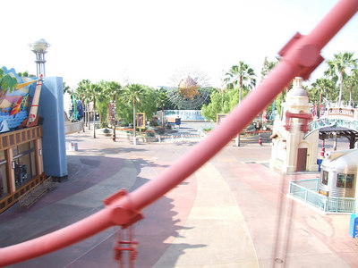OK, it is shortly after 9 AM and the park has not yet opened it gates.....