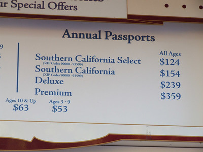 AP's also went up on Friday. The two SoCal's went up $5, the Deluxe and Premium went up $10.