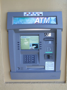 Bank of America is no longer the ATM, and now is run by Knott's itself.