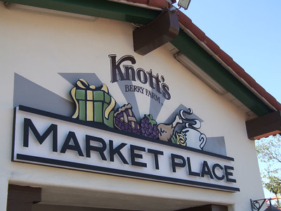 A new sign at Knott's Marketplace, looks good....