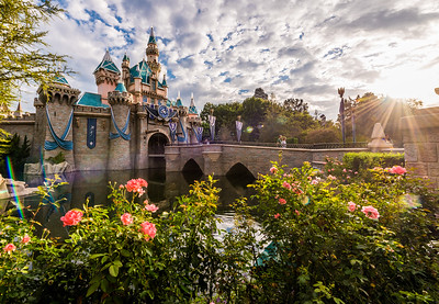 Sleeping Beauty Castle Sunrise