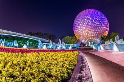 Spaceship Earth Fisheye