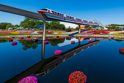 Flower and Garden Monorail