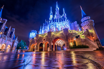Holiday Castle Reflections