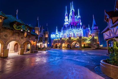 Dream Lights in Fantasyland Village