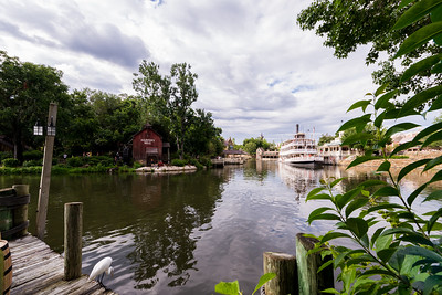 Looking Out at Tom Sawyer Island