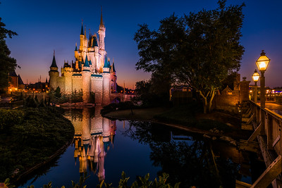 Magic Kingdom 24 Hour Day Sunrise, 2015
