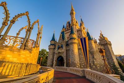 Cinderella Castle - Morning Light