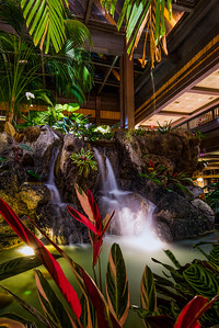 Polynesian Lobby Water Feature