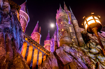 Moon Over Hogwarts
