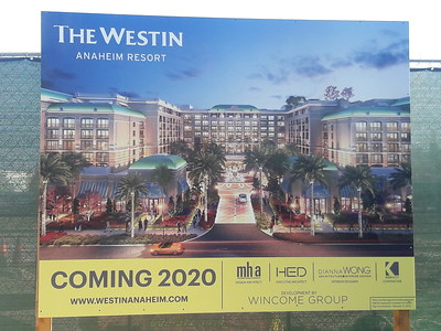 Anaheim Resort Construction Update - 5/8/2018