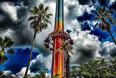 Falcon's Fury Busch Gardens - Tampa, Florida