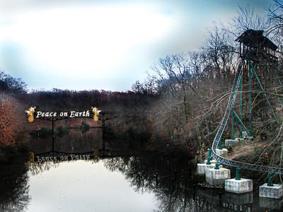 Christmas Town Busch Gardens - Williamsburg, Virginia