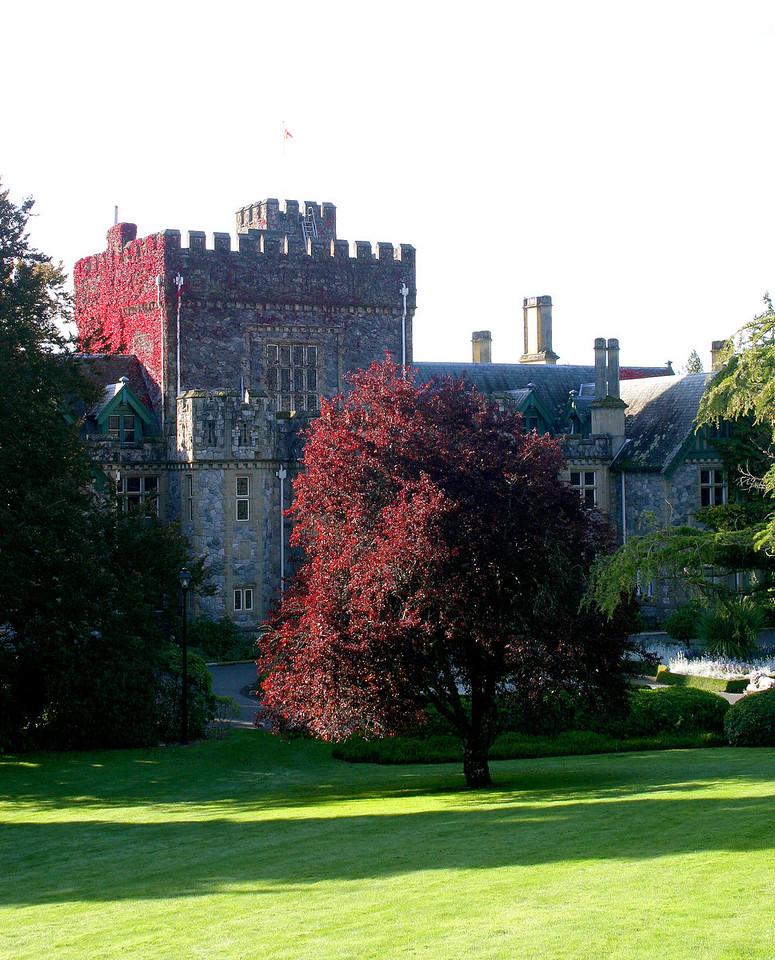 Hatley Castle<br /> 城堡----当初的豪宅,今天的博物馆。