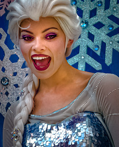 Queen Elsa, Walt Disney World Festival of Fantasy Parade - Orlando, Florida