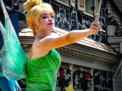 Tinker Bell Walt Disney World Festival of Fantasy Parade - Orlando, Florida