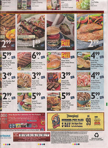 The Albertsons Ad features the DLR offer on the back page