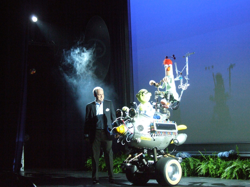Tom Fitzgerald and the Muppet Mobile Lab