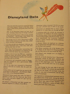 Page 26 clearly states that July 18th was opening date, but a lot of other interesting statistics are also on this page.  Heck, AVERAGE cost to visit Disneyland - $2.29!