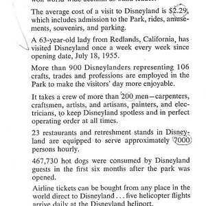 Clearly July 18th, from a Disneyland Publication.