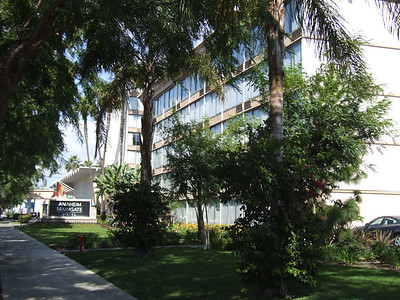 """The Former Radisson on Harbor, just south of Katella has been bought by the Red Lion Group.  It is now known as the """"Anaheim Maingate Hotel"""" while they totally renovate the place"""