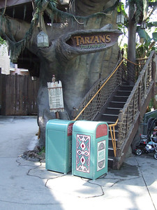 Tarzan's Treehouse was also closed