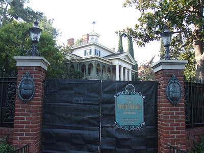 Much of the Haunted Mansion is back to normal